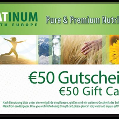 50 € Rabatt auf Platinum Produkte*